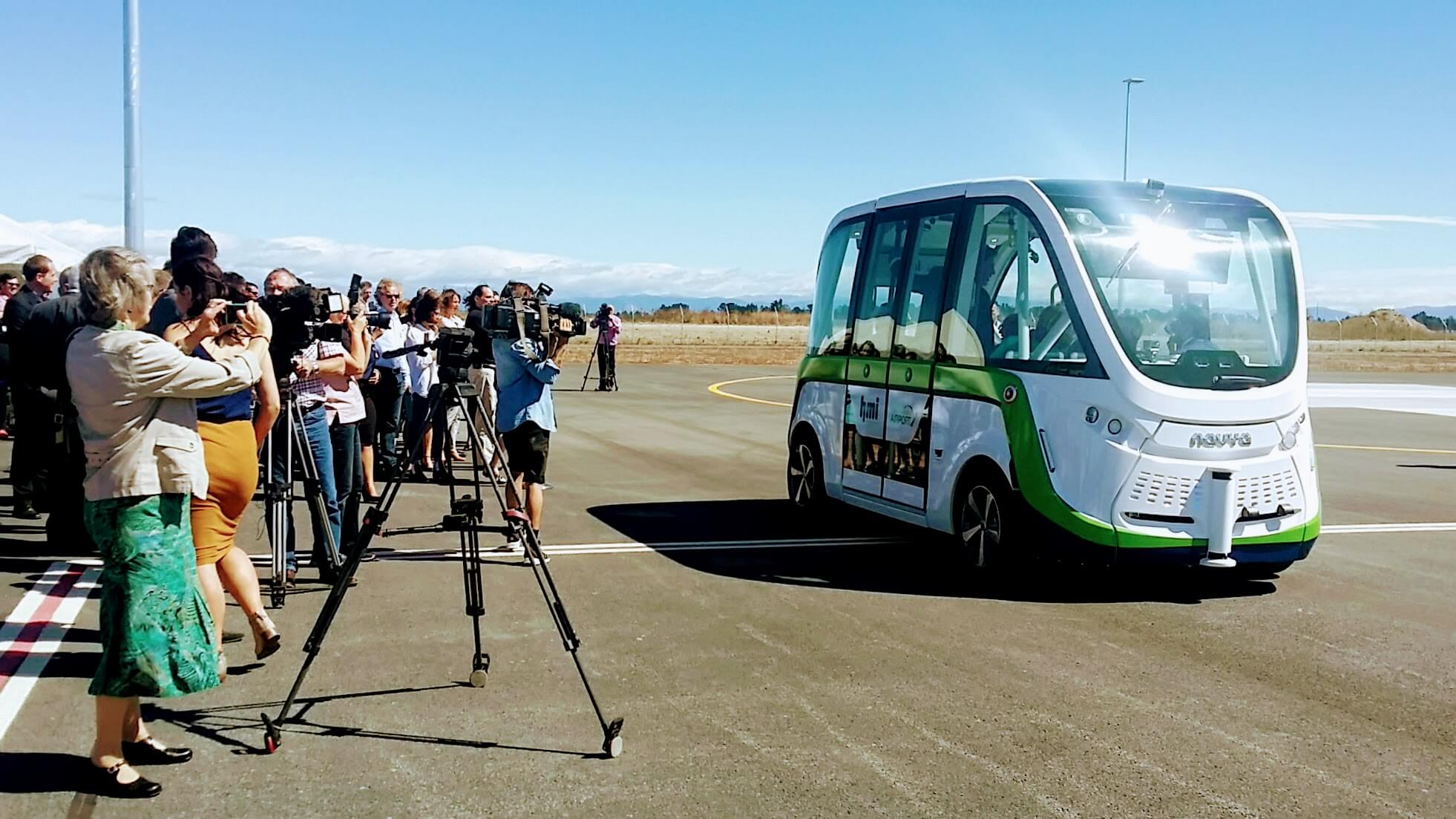 Autonomous Vehicle trial launched in New Zealand by HMI Technologies