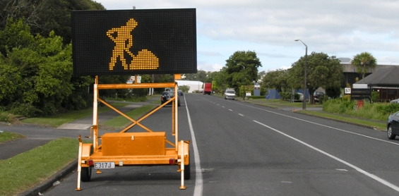 Mobile Variable Message Sign Vms