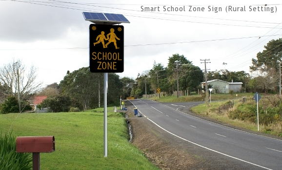 Smart School Zone Sign