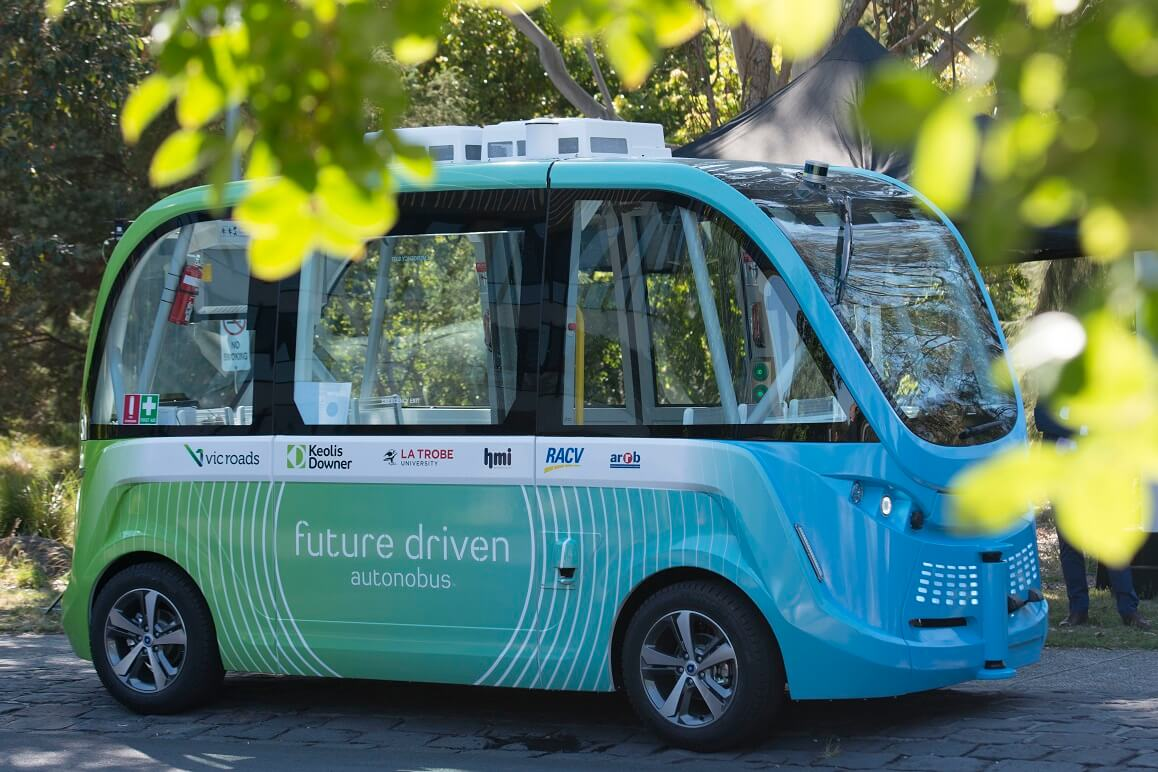 The La Trobe Autonobus autonomous shuttle trial